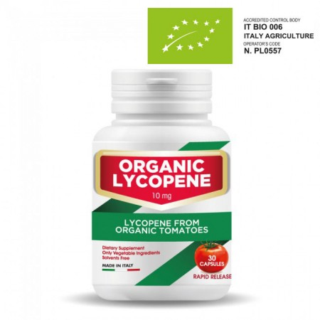 Organic Lycopene - Dietary Supplement with Organic Lycopene