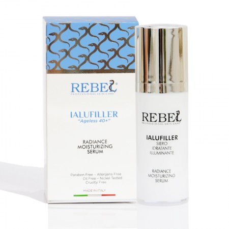 Rebel Ialufiller Ageless 40+ Radiance Moisturizing Serum - 30 ml