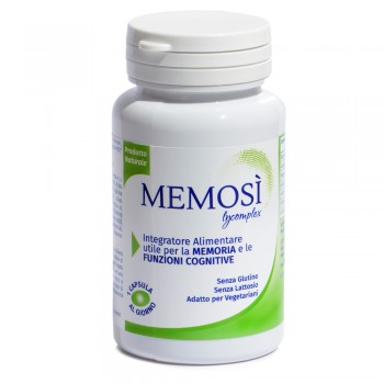 Memosì Lycomplex - Supplement for the Memory and Cognitive Function