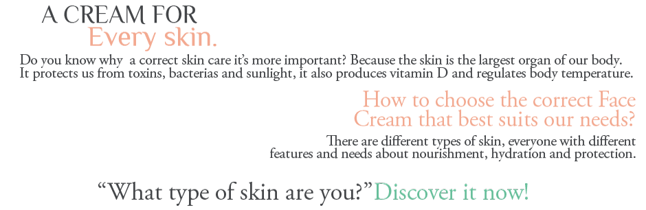 the right cream for the right skin